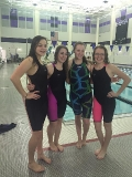 Girls 400 Free relay